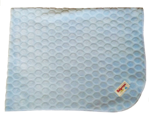 Fleece Circles Blanket Blue