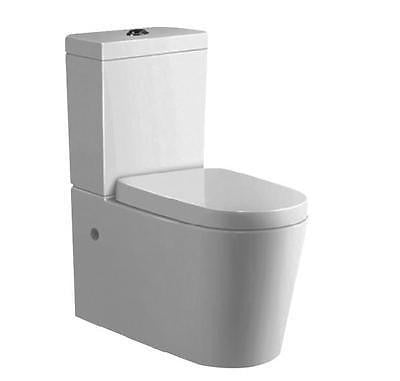Inspire alzano designer back to wall faced bathroom/laundry toilet suite 4 star