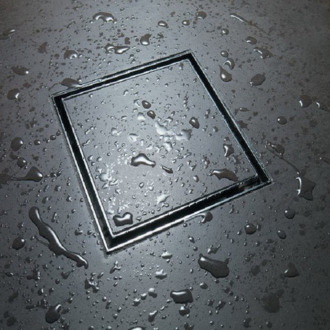 100 mm tile insert floor grate, 304 stainless steel,drain smart linear waste