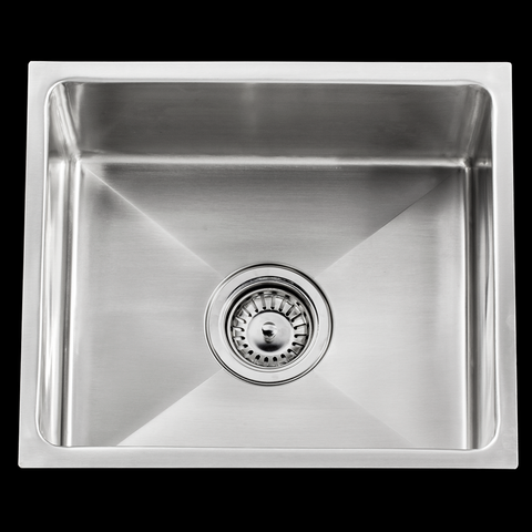 450 x 450 x 200 mm under mount stainless steel kitchen sink 1.2 mm thickness