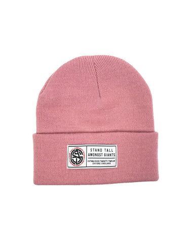Speckled Beanie // Burgundy
