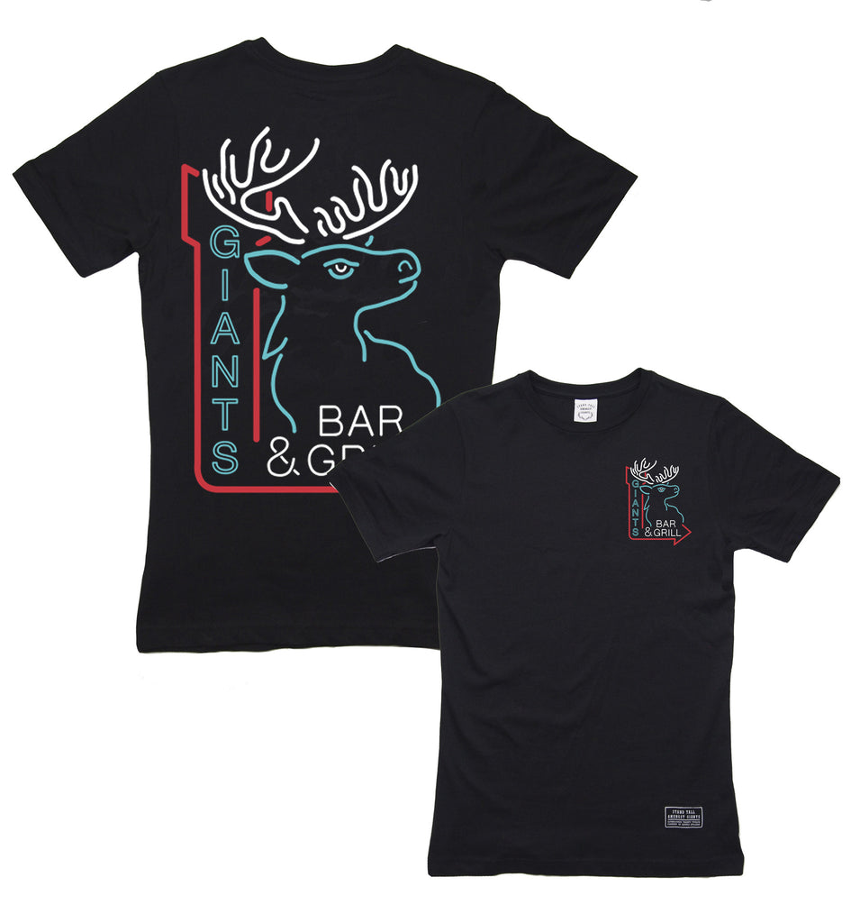Neon STAG Tee // Black