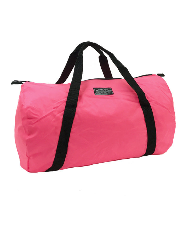 STAG Logo Holdall // Pink