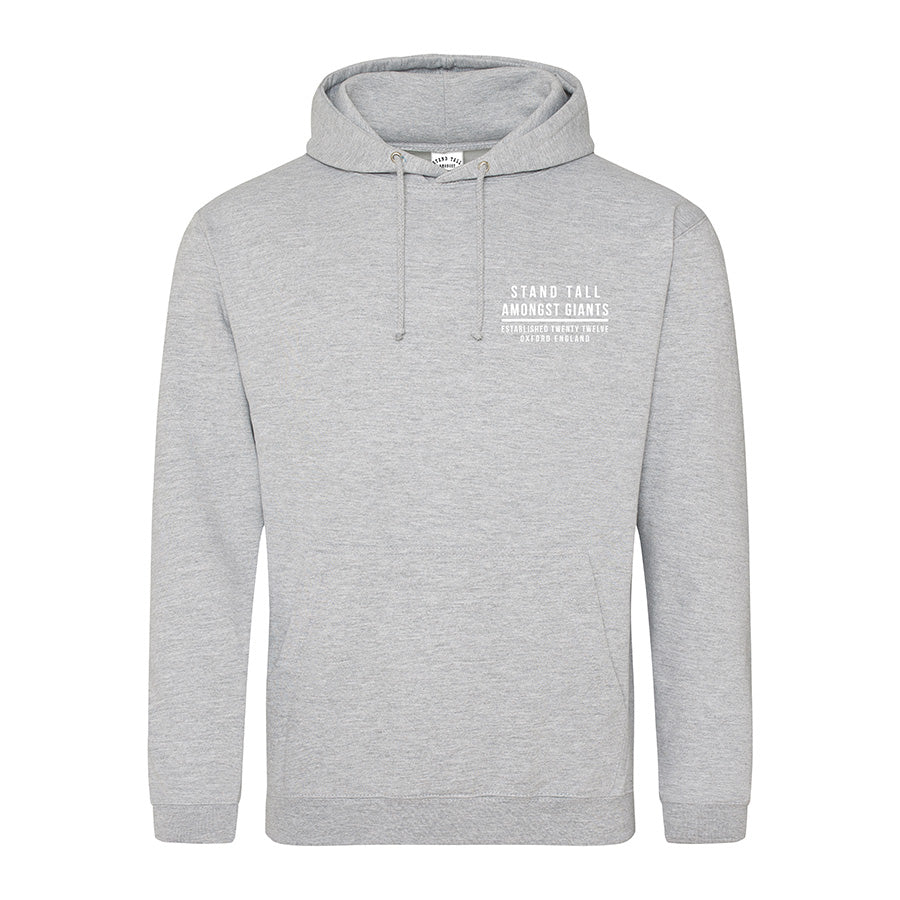 Hallmark // All Heart Print | Heather Grey Hoodie