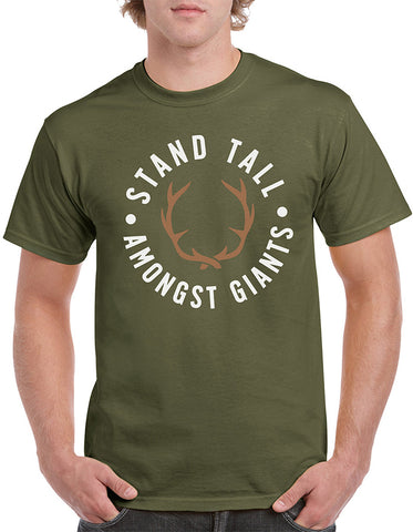 Native // Military Green Tshirt