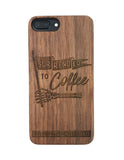 Walnut Surrender iPhone Case //
