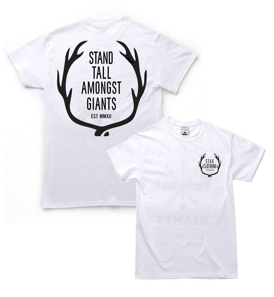 All Hart Tee // White //