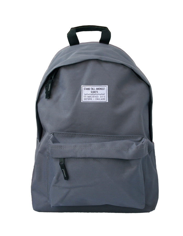STAG Logo Backpack // Grey