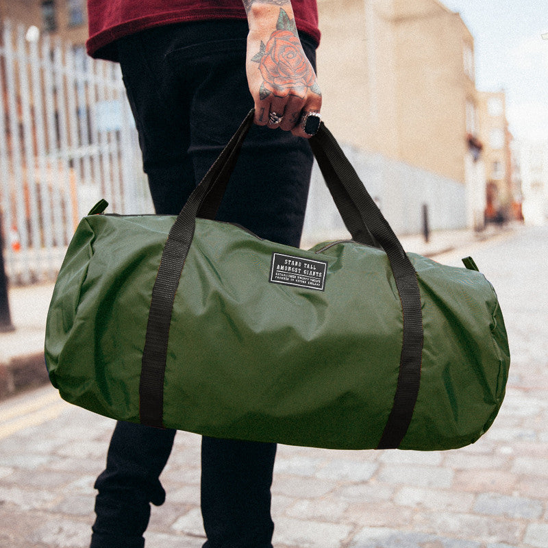 STAG Logo Holdall // Olive