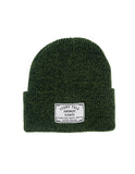 Speckled Beanie // Green