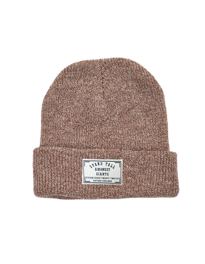 Speckled Beanie // Oatmeal