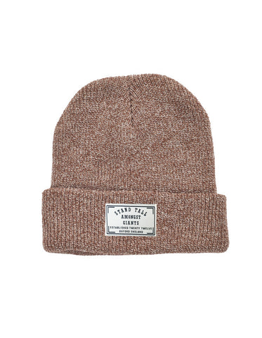 Speckled Beanie // Heather Burgundy