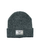 Speckled Beanie // Grey