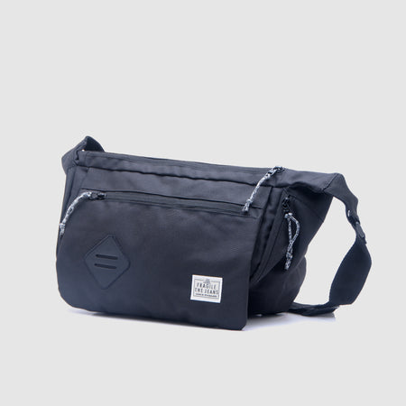 Grotestap Bum Bag Black