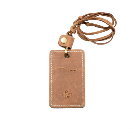 CONVENIENT IDENTITY CASE LIGHT BROWN