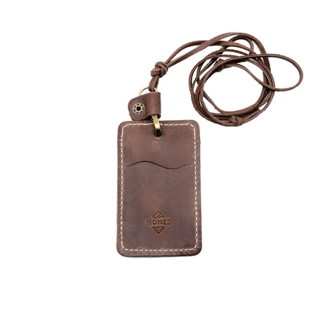 CONVENIENT IDENTITY CASE DARK BROWN