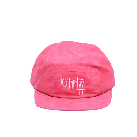 5 Panel Hat Fully Flared Red