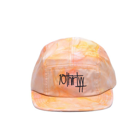 5 Panel Hat Fully Flared Yellow