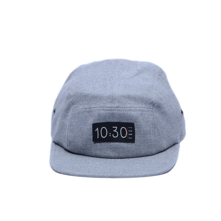 5 Panel Hat Woll Gray