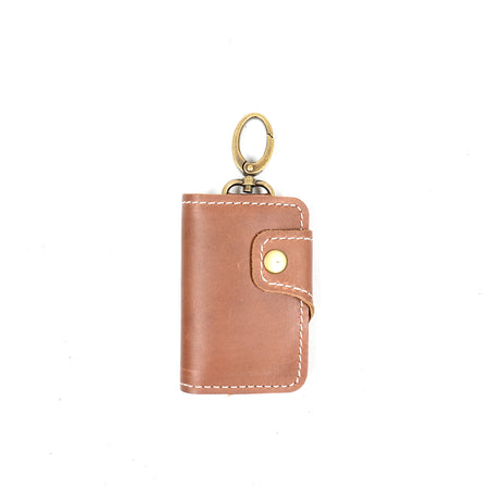 MONZE KEY WALLET BROWN