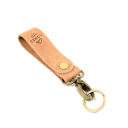Monze Keychain Brown