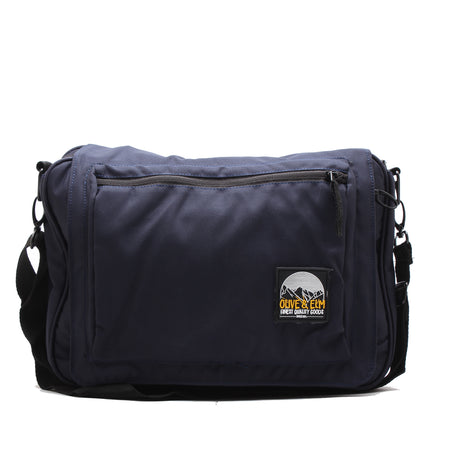 Olive Messenger Bag Navy