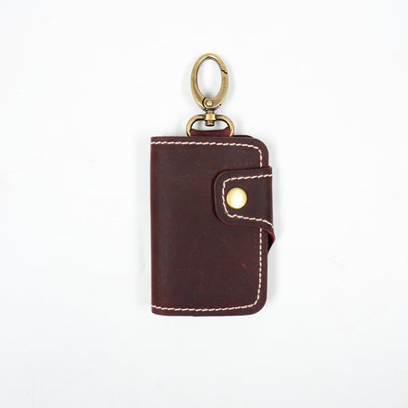 MONZE KEY WALLET MAROON