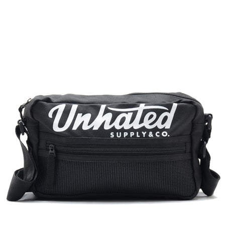 Identity Black Pouch Bag