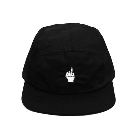 5 panel hat Fact-You Black