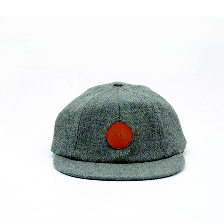 8 Panel Caps Green Woll