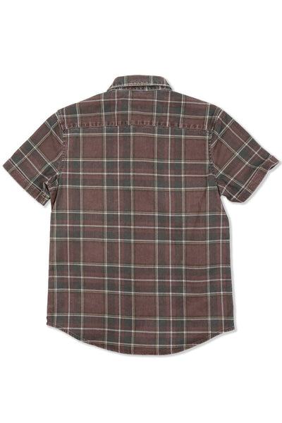 Plaid Roll Sleeve Shirt