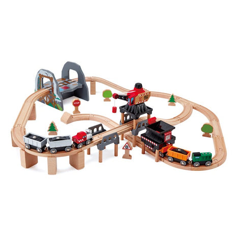 Lift & Load Mining Train Playset