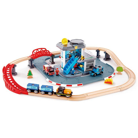 Emergancy Service HQ Train Set