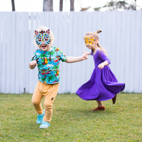Do It Yourself Jungle Animal Masks