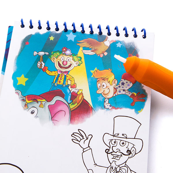 Magic Water Colouring Pad - Amusement Park