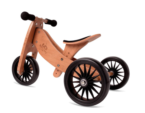 Kinderfeets Tiny Tot PLUS 2in1 Trike - Bamboo