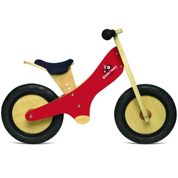 Kinderfeets Balance Bike Black, Red, Pink & Blue