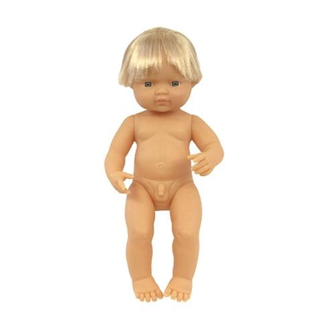 Caucasian Boy 38cm - No Clothes OR Box