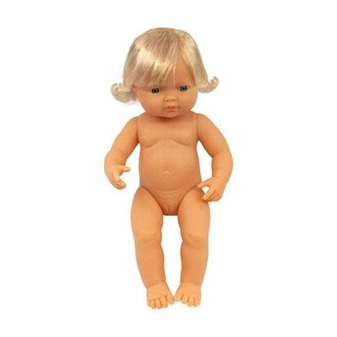 Caucasion Girl 38cm - No Clothes OR Box