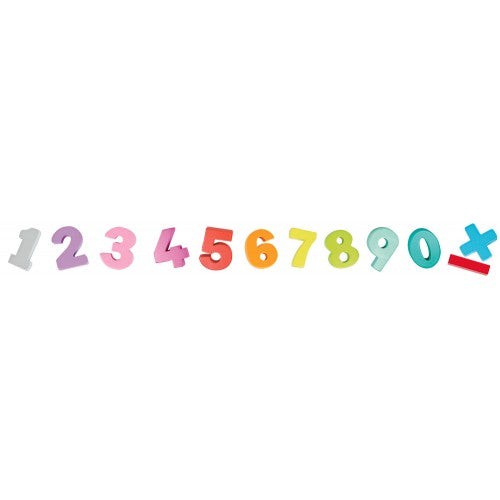 Wooden Numbers & Book Set