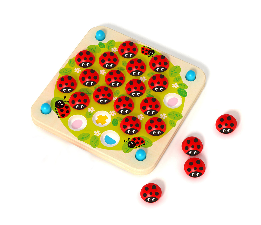 Memory Game - Lady Bugs