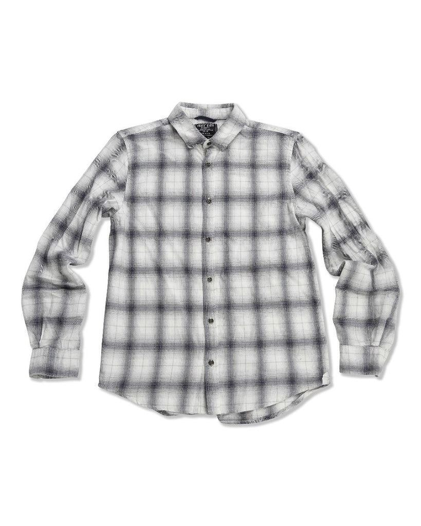 Dudley Check Shirt - Off White