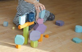 Wooden Blocks - Colour Tree Slices