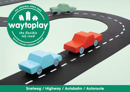 Way To Play Highway Set - 24 Pieces
