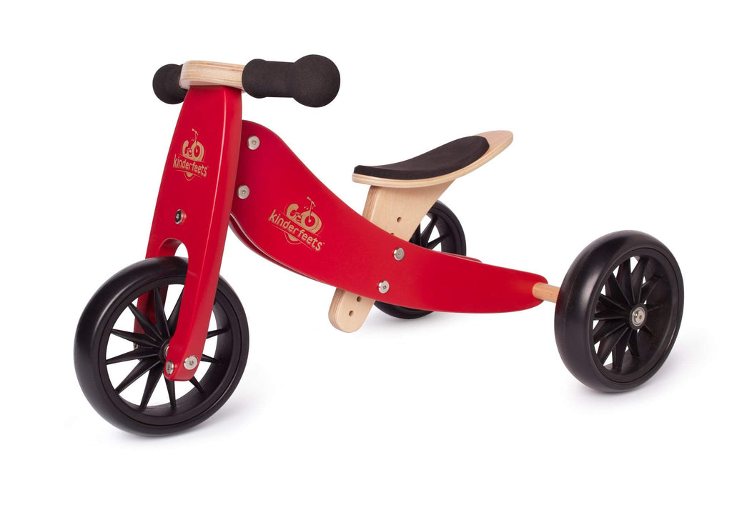 Kinderfeets Tiny Tot 2in1 Trike - Cherry Red
