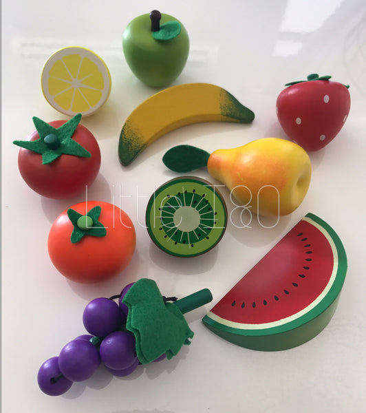 Wooden Fruit & Vegetables