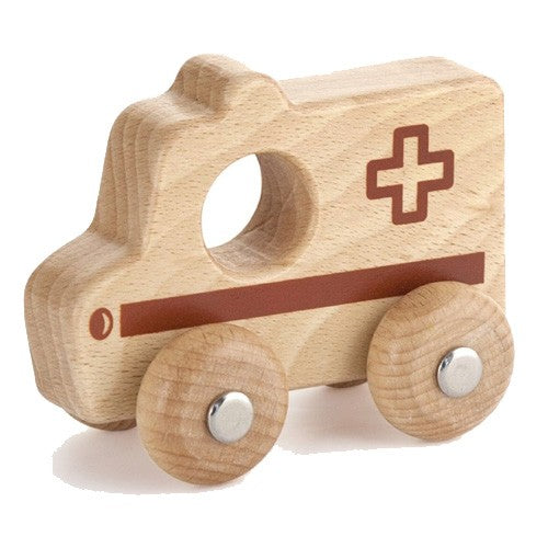 Wooden Emergency Vehicle