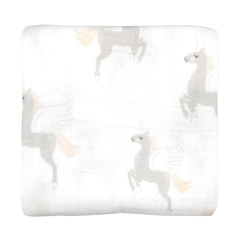 Unicorn Muslin Wrap