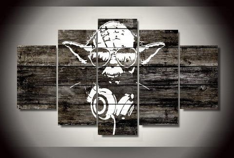 HD Printed Star Wars Yoda Canvas