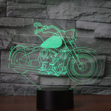 New Cruiser 3D Led Light Lamp